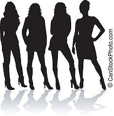 quatre, modèles
