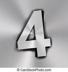 quatre, nombre