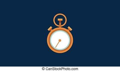quatre, sept, service, vingt, jours, heures, animation, hd