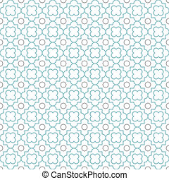 Quatrefoil Lattice Pattern - Traditional quatrefoil lattice...