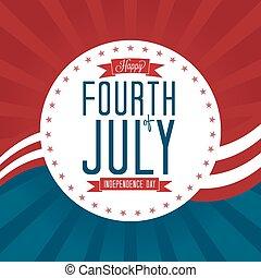 quatrième juillet