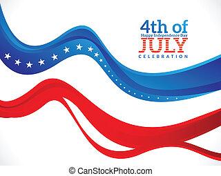 quatrième juillet, fond, résumé