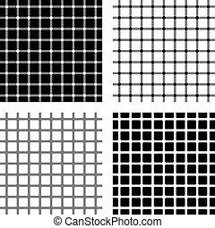 quatro, óptico, ilusões