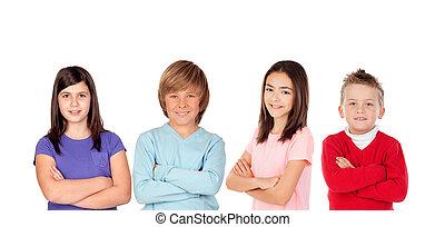 quatro filhos