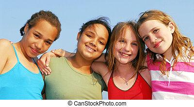 quatro meninas