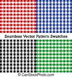 quattro, swatches, tovaglia, seamless, modelli