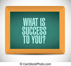 que, é, sucesso, para, tu, chalkboard, sinal