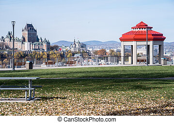 Quebec City in the fall with Gazabo