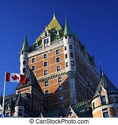 Quebec City landmark - Quebec City most famous landmark,...
