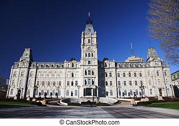 Quebec parliament building (H�tel du Parlement), Quebec ...