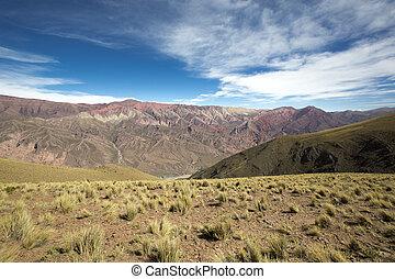 quebrada, de, humahuaca, norteño, argentina
