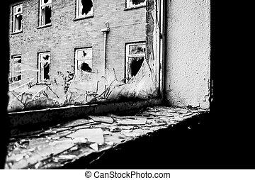 quebrada, janela