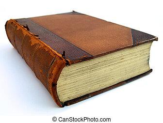 quebrada, livro, perspectiva, vista