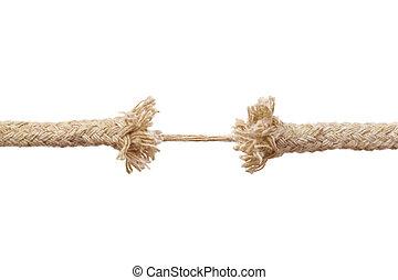 quebrar, corda