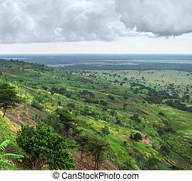 Queen Elizabeth National Park in Uganda