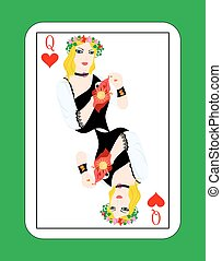 queen of cards