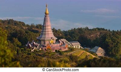 Queen Pagoda Of Thailand
