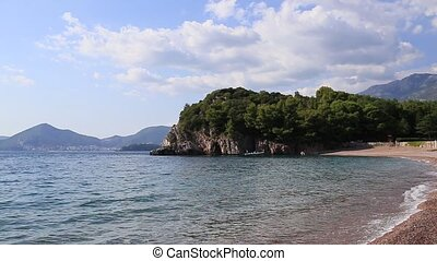 """""""Queen's Beach"""" in the territory of the park Milocer -..."""