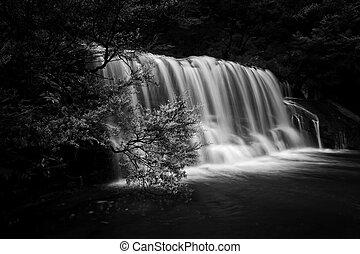 Queens Cascade Waterfall Blue Mountains