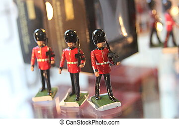 Queens Guard Mini Toy Soldier