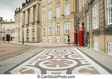 Queens Royal castle denmark copenhagen
