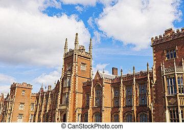 Queen's University of Belfast. Belfast, Northern Ireland, United Kingdom.