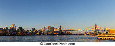 Queensboro Bridge in Manhattan, New York