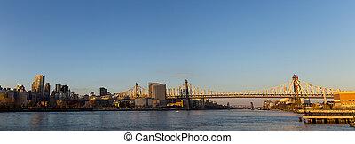 Queensboro Bridge in Manhattan, New York