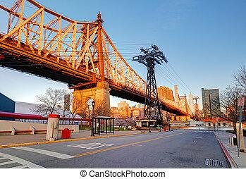 Queensboro Bridge, New York City, USA.