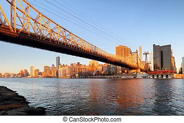 Queensboro bridge - Uptown, New York City