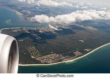Queensland from the Plane