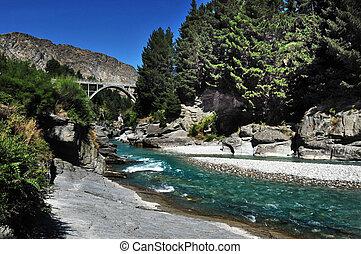 Queenstown River New Zealand