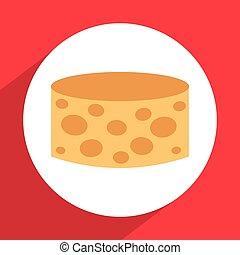 queijo, ícone