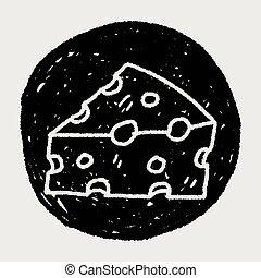 queijo, doodle