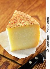 queijo, pecorino, típico, italiano