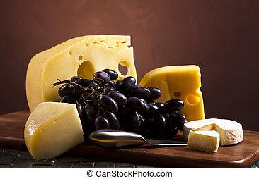 queijo, pedaço