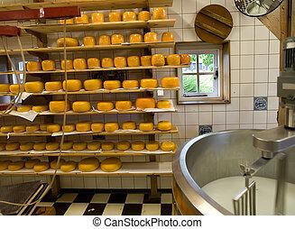 queijo, producao