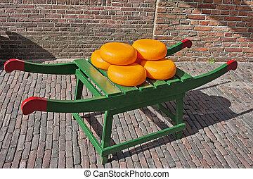 queijo, rodas,  gouda, holandês