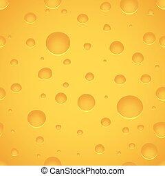 queijo, textura, padrão