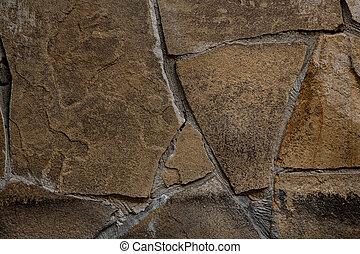 quelques-uns, beau, formulaire, indéfini, texture, surface, ...