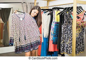 quelques-uns, mode, achats, magasin