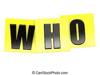 quem, em, nota amarela