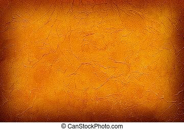 quemado, fondo anaranjado, papel pintado