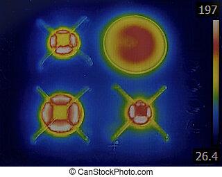 quemadores de gas, infrarrojo