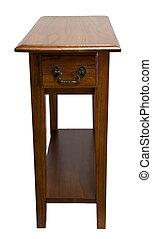 quercia, sedia, lato, tavola fine