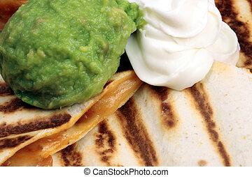 quesadilla, mexicain