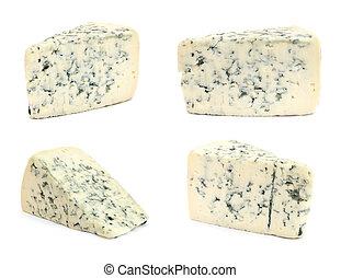queso, con, molde