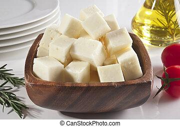 queso, feta, turco