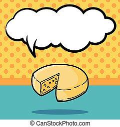 queso, garabato