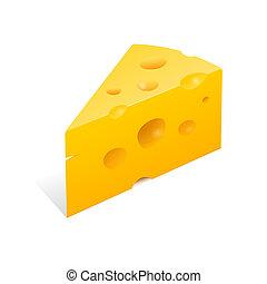 queso, ilustración